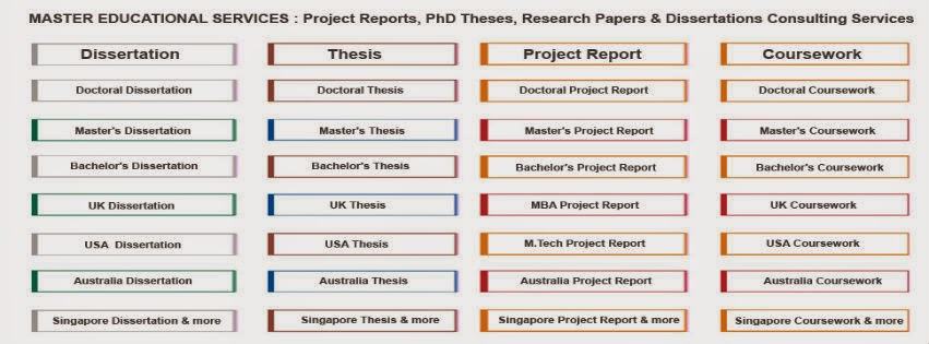 Dissertation Consultation Services